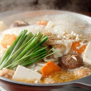 絶品「塩ちゃんこ鍋」