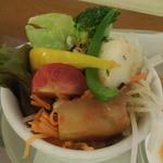 PEGGY珈琲 - モーニングの手作りサラダ