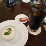 ジョルジェット - レアチーズケーキ&アイスコーヒー