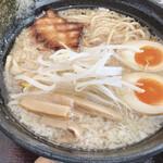 中島亭 - こくまろ醤油ラーメン+味付け玉子