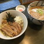 風来居 - * こだわりのまぜ麺 920円 ※ネギ抜き