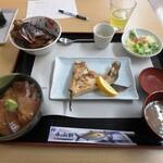 味処 海の桜勘 - 垂水漁協お勧めA定食¥1,500