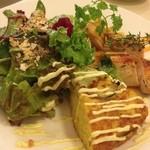 レストラン パブロ - ランチ チキンのプレート