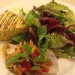 レストラン パブロ - ランチ タラの3色パプリカのソース