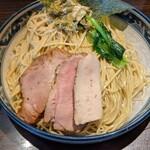 麺や豊 - つけそば   大盛り(細麺)