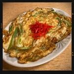 鶴亀 - ねぎ玉 450円