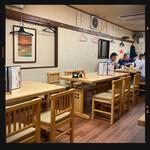 鶴亀 - 2階店内