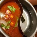 串遊海鮮 かいり - 出汁 (トマトスープ、昆布出汁) ~ 10種類の中から2種類選べます