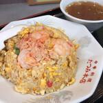 たつみ本店 - 料理写真:五目チャーハン(スープ付き)¥850