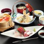 蟹海楽 - 蟹わっぱ定食 2000円