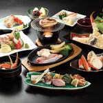 蟹海楽 - 料理写真:蟹づくし(粋)コース 7700円