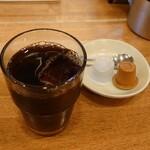 うめぞう - サービスのアイスコーヒー
