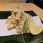 小松庵総本家 - 野菜天つき(なので計2860円)