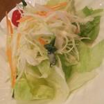 クリスティ - ランチのサラダ