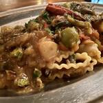 罠:TRAPPOLA - 秋刀魚の秋収穫パスタ