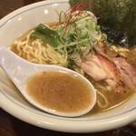 らぁめん 欽山製麺所 - らぁめん 欽山製麺所(香川県高松市片原町)鶏そば
