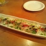 散歩亭 - 白身魚のカルパッチョ