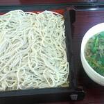 蕎麦六 - 川俣シャモ南蛮そば