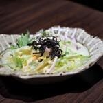 水炊き ふく将 - ふく将の美人サラダ