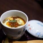 水炊き ふく将 - 奥久慈卵の極蒸