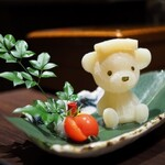 水炊き ふく将 - 出汁クマ