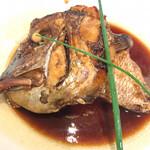 まわる寿司 博多魚がし - 鯛のあら炊き ¥590
