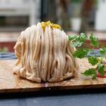 ラニーチーズ - 料理写真:☆【ラニーチーズ】さん…チーズモンブラン(≧▽≦)/~♡☆