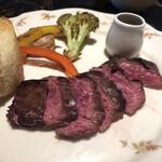 ル コンテ - 牛ハラミのステーキ