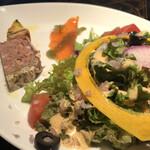 ル コンテ - ランチ前菜