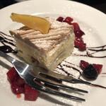 ル コンテ - ランチのデザート
