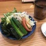 寿司ダイニングAYAMACHI - サラダ