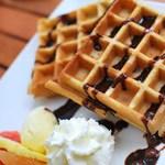 グリーンエッグ - チョコレートワッフル