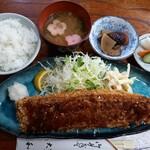 とんかつ大和 - 料理写真:うなぎかつ定食