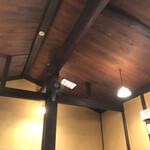 gionuokeyau - 天井無く屋根まで吹き抜けており開放感があります