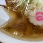 佐野ラーメン いってつ - しょうゆスープ