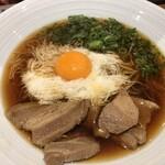 東京とろろそば - 〇肉とろろそば790円