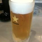 七代目けいすけ - 生ビール
