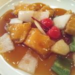 13880462 - ランチの白身魚の甘酢炒め