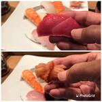 Sendouzushi - 上  鮪 下  赤貝