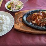 レストラン コロナ - ポークチャップCセット