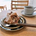 タワニコ - 和栗のタルトと深煎り珈琲