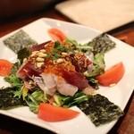 厳遊庭 - 刺身サラダ