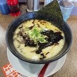 Kawasakishouten - とんこつ黒(800円)