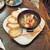 和×伊 大衆酒場カランコロン - 料理写真:海老とホワイトアスパラのアヒージョ