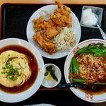 龍華 - ラーメン定食 1000円(税込み)
