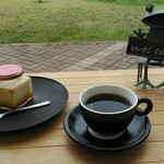 aキューブカフェ - 料理写真:きゅーぶプリン&オリジナル珈琲