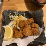 肉×魚×日本酒 照 - タコの唐揚げ 490円