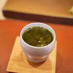 鮨菜 和喜智 - 牡蠣の茶碗蒸し
