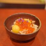 鮨菜 和喜智 - 銀聖(鮭)ご飯