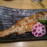 魚菜屋 - のど黒(焼き)